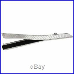 10 Aluminum Wheelchair Ramp Folding Handicap Scooter Ramp Portable Mobility