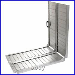 10 FT Aluminum Ramps Folding Wheelchair Scooter Mobility Portable Ramp Anti-slip