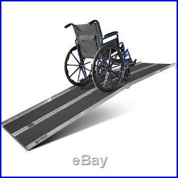 10' ft Aluminum Multifold Wheelchair Scooter Mobility Ramp portable 120 (MF10)