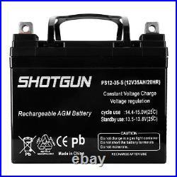 12V 35AH GEL Battery for Scooter Pride Mobility Jazzy Select Wheelchair 2 Pack