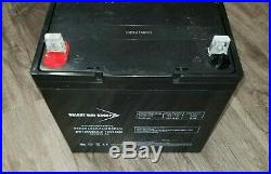 12V 55AH Scooter Wheelchair Mobility Deep Cycle Bright Way Battery BW12550DC-Z