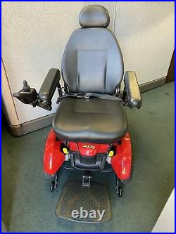 2017 Pride Mobility Scooter Jazzy Elite 14 Electric Wheelchair Powerchair
