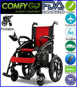 2019 Car Trunk Friendly Foldable Mobility Scooter Electric Wheelchairs Red