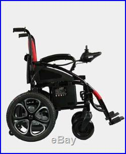 2019 Mobility Scooter Premium Red Foldable Lightweight Electric Wheelchairs