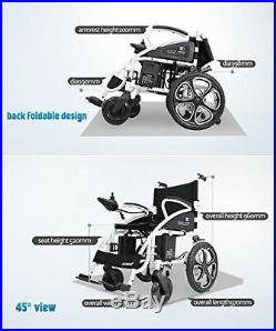 2019 New Chairs Power Scooter Lightweight Electric Wheelchair Mobile Wheelchair