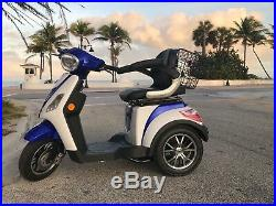 2020 EMOTO USA ELECTRIC MOBILITY SCOOTER 600W 60v Tricycle wheelchair 16mph