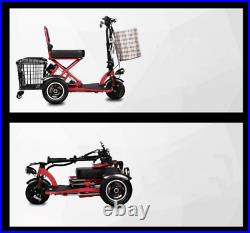 2020 Foldable Electric Scooter Wheel Folding Portable Travel Home Mobility NEW