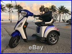 2020 MOBILITY SCOOTER POWERFUL 600W 60 V Tricycle wheelchair 16mph EMOTO USA