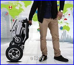 2020 Model Fold and Travel Electric Wheelchair Medical Mobility Aid Power