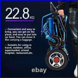 2021Aid Mobility Foldable Lightweight Mobility Electric Wheelchair Power Scooter