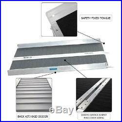3'-8' Aluminum Wheelchair Ramp Loading Scooter Mobility Handicap Ramps 4 Choice