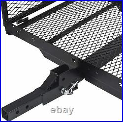 400 lb Foldable Wheelchair Hitch Carrier Mobility Scooter Folding Hitch Carrier