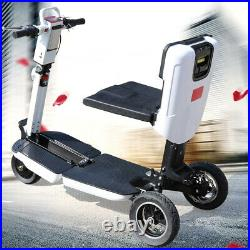 48V Electric 3 Wheel Mobility Scooter 3Speed E-Scooter Folding Mobile Wheelchair