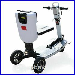 48V Foldable Electric Mobility Scooter Long Life Motorized Wheelchair Bike 3 Whe