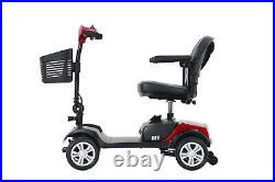 4 Wheel Mobility Scooter Compact mobility Electric Powered Wheel chair Travel US