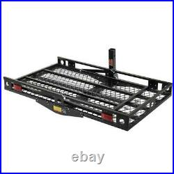 500lbs Mobility Carrier Wheelchair Scooter Rack Disability Ramp Hitch Mount