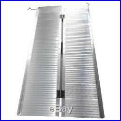 5' Briefcase Fold Utility Loading Ramp for Wheelchairs Scooters Mobility