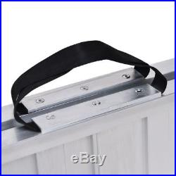5 FT Briefcase Fold Utility Loading Ramp for Wheelchairs Scooters Mobility New