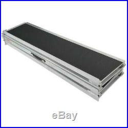 600lb Aluminum Briefcase Ramp 10' Non-Slip Mobility Scooter Wheelchair Threshold
