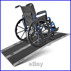 6' ft Aluminum Multifold Wheelchair Scooter Mobility Ramp 72 USED