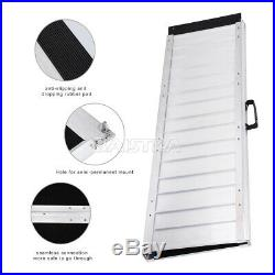 6ft 29 wide 72L Folding Aluminum Loading Ramps for Wheelchair Scooter Mobility