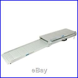 6ft Aluminum Wheelchair / scooter Ramp Portable Multi Folding for Mobility Aids