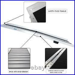 6ft Folding Aluminum Wheelchair Ramp Portable Mobility Scooter Carrier-600lbs