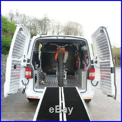 8FT Four-section Lightweight Aluminum Alloy Wheelchair Scooter Mobility Ramps