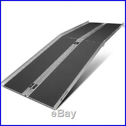 8' ft Aluminum Multifold Wheelchair Scooter Mobility Ramp portable 96 (MF8)
