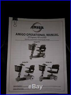 Amigo RT Express 3-Wheeled Electric Mobility Scooter New Batteries A STEAL