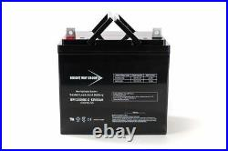 BWG 12V 55Ah UB12550 Replacment Scooter Wheelchair Mobility DC SLA AGM Battery