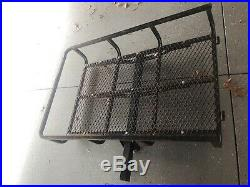 Black Mobility Wheelchair Electric Scooter Snow Blower Medical RAMP CARGO