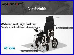 CE Folding Power Electric Wheelchairs Elderly Disabled Foldable Scooter Mobility