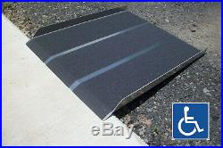 CodyCo Solid Aluminum Wheelchair Mobility Scooter Access Loading Ramp 5ft X 36
