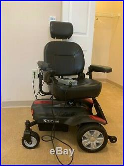Drive Titan X23 Swivel Recling Seat Powerchair Electric Mobility Wheelchair used