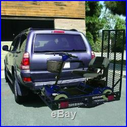 Durable Mobility Electric Scooter Wheelchair Hitch Carrier Medical Rack Ramp TO