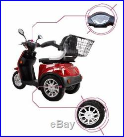 EMOTO USA ELECTRIC MOBILITY SCOOTER 600W Tricycle wheelchair 16 mph handicap