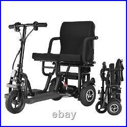 EazinGo 3 Wheel Folding Electric Mobility Scooter Electric Powered Wheelchair