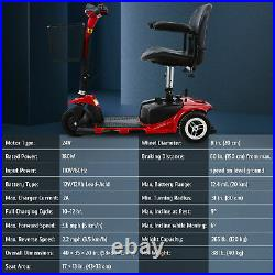 Electric Mobility Scooter 3 Wheel Wheelchair Equal for Seniors Adults w Injuries