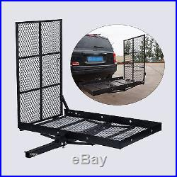Electric Wheelchair Hitch Carrier Mobility Scooter Transport withLoading Ramp New