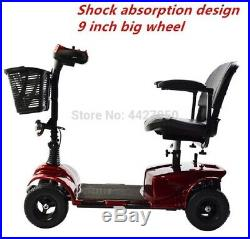 Elite Traveller Plus 4 Wheel Heavy Duty Mobility Scooter electric wheelchair