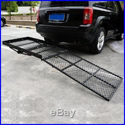 Fold Up Mobility Carrier Wheelchair Electric Scooter Rack Hitch Medical Ramp NEW