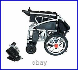 Fold and Travel Electric Power Wheelchair Power Mobile Scooter Wheelchair Chair