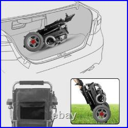 Fold and Travel Electric Wheelchair Medical Mobility Power Wheelchair Scooter