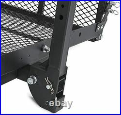 Foldable Wheelchair Hitch Carrier Mobility Scooter Folding Hitch Carrier