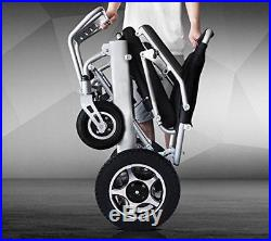 Folding Lightweight 50lb Electric Wheelchair Medical Mobility Aid Power Scooter