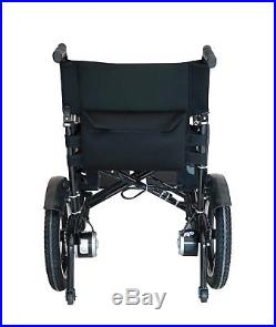 Folding Lightweight Electric Power Wheelchair Powerchair Mobility Scooter Gift
