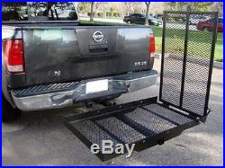 Folding Mobility Wheelchair Scooter Medical Carrier Rack Ramp 2 Hitch Mount New