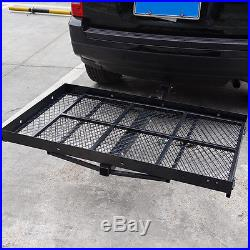 Folding Strong Electric Wheelchair Hitch Carrier Mobility Scooter Loading Ramp F