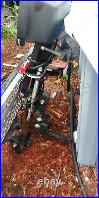 Harmer Foldable Electric-Wheelchair Hitch Carrier Mobility Scooter Loading Ramp